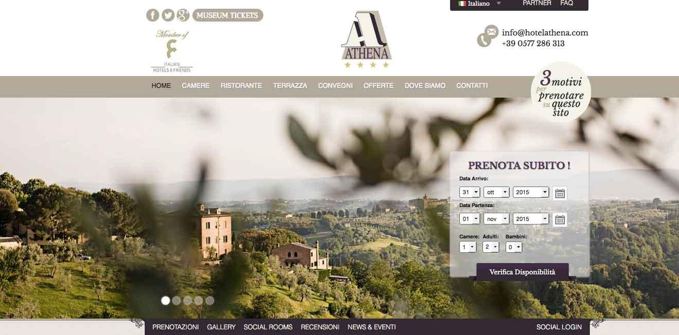 Hotel Atena SIena