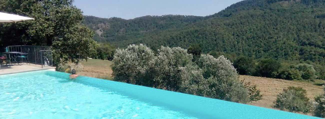 locanda del viandante anghiari piscina